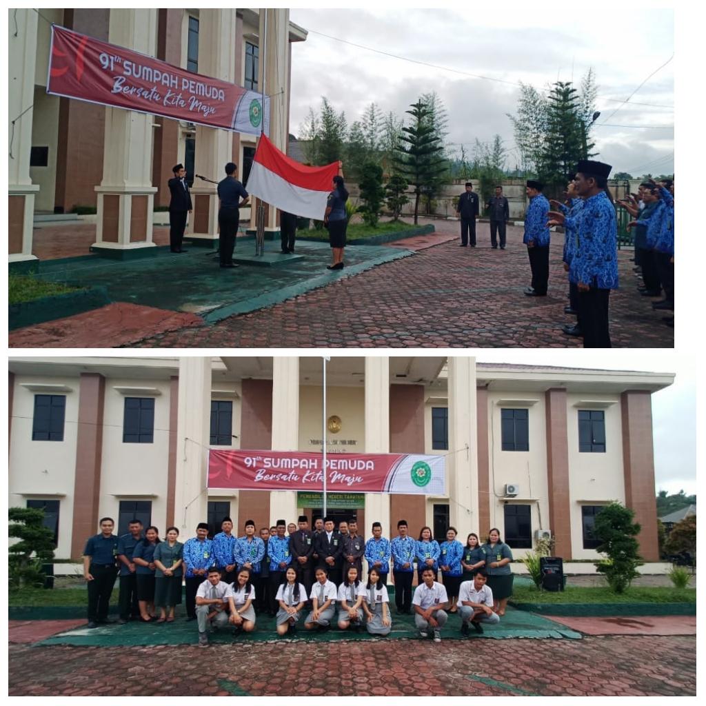 Pengadilan Negeri Tarutung Memperingati Hari Sumpah Pemuda   ke-91  Tahun 2019.