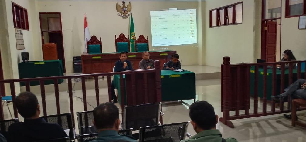 Sosialisasi   Tentang Pelaksanaan Eksekusi,   Pelaksanaan E-Court   & E-Litigasi serta Permasalahan- permasalahan dalam pelaksanaan tugas  pada Pengadilan Negeri  Tarutung