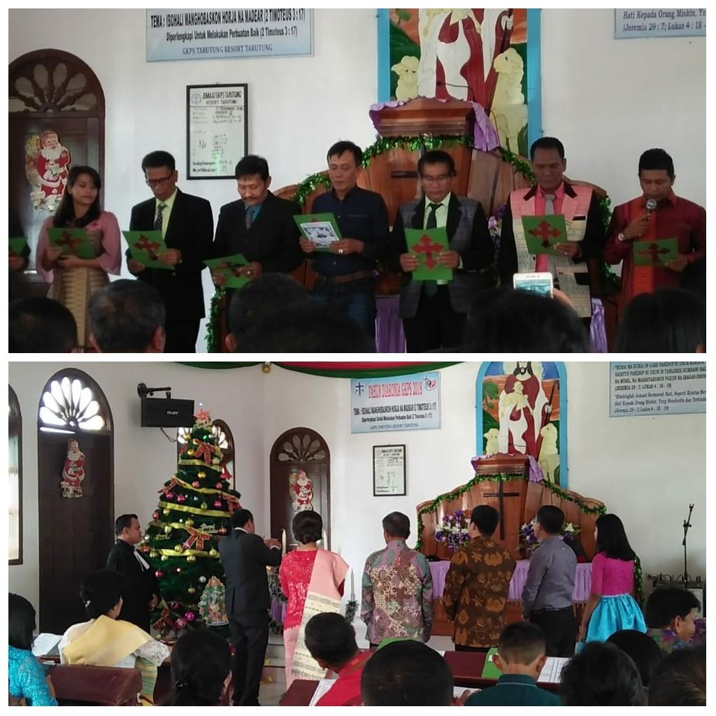 Perayaan Natal Keluarga Besar Pengadilan Negeri Tarutung