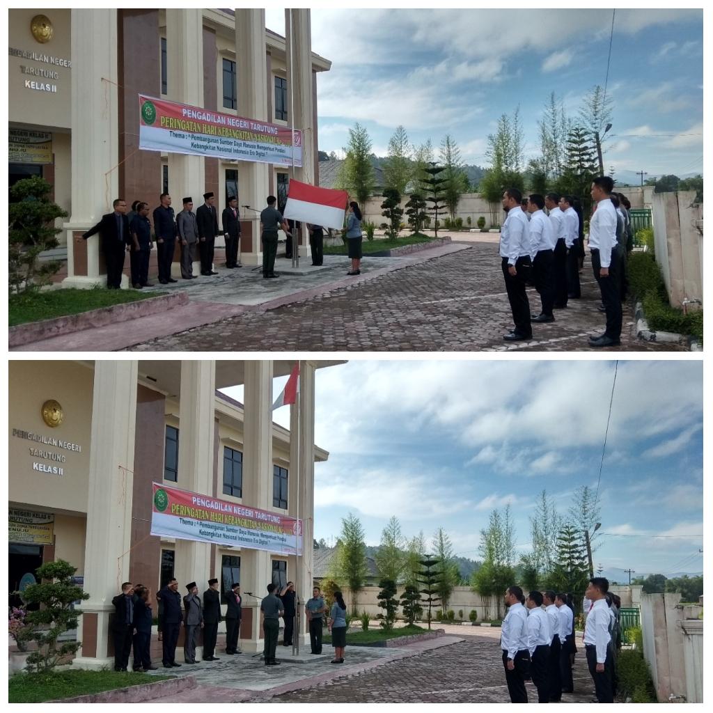 Pengadilan Negeri Tarutung Memperingati Hari  Kebangkitan Nasional Ke101